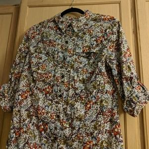 Petite button down shirt